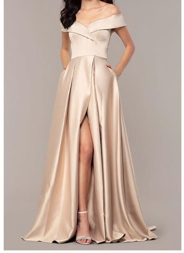 dress silk satin