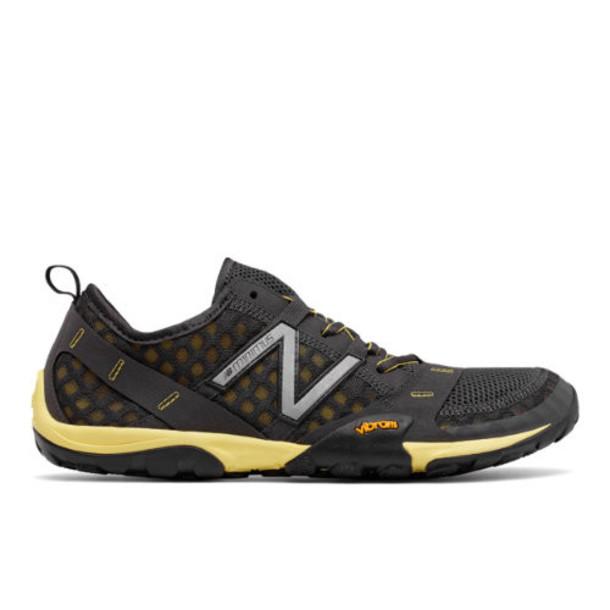 New Balance Minimus Trail 10 Men's Trail Running Shoes - Grey/Yellow (MT10GG)
