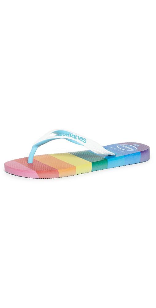 Havaianas Top Pride Sole Flip Flops in blue