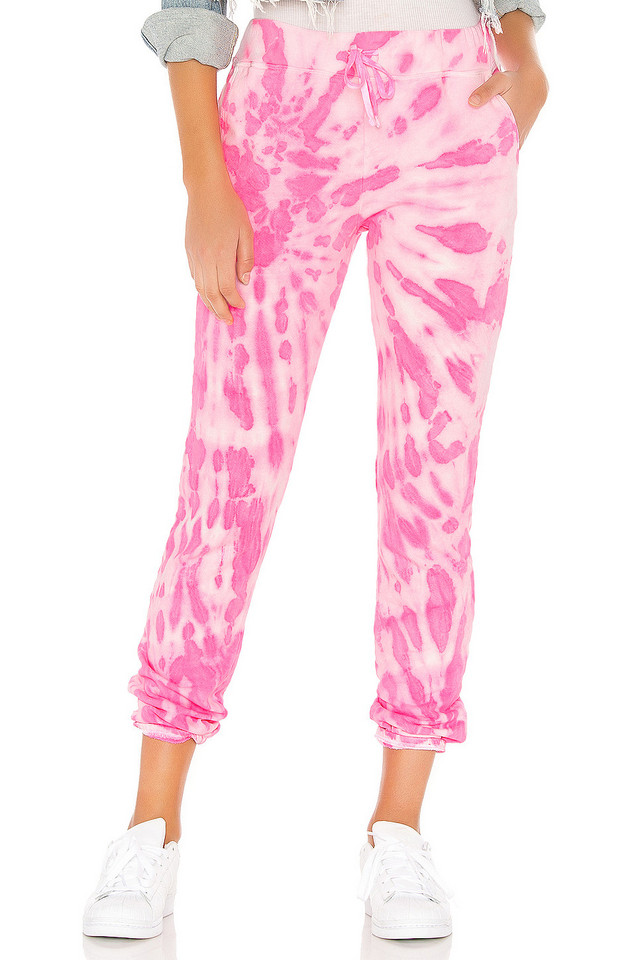 DAYDREAMER X REVOLVE Tie Dye Pant in pink