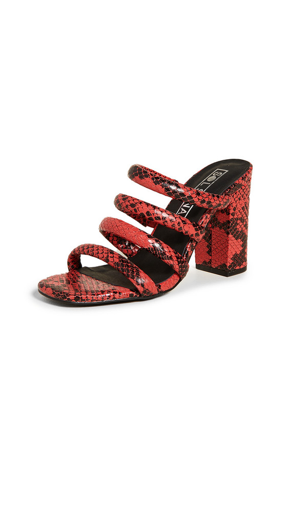 Sol Sana Judy Tubulur Mules in red