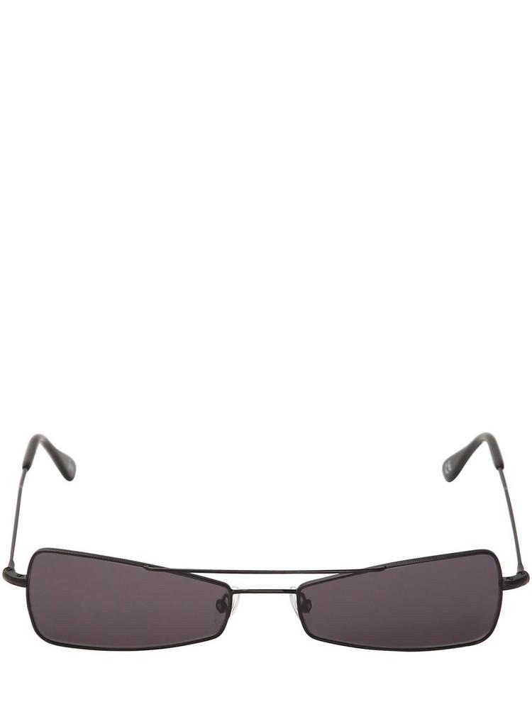 ANDY WOLF Kira Metal Sunglasses in black
