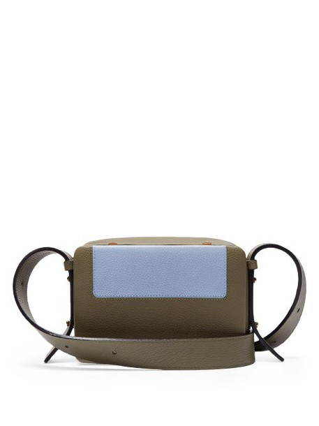 Lutz Morris - Maya Grained Leather Cross Body Bag - Womens - Khaki