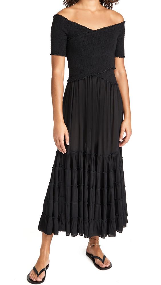 Poupette St Barth Soledad Dress in black