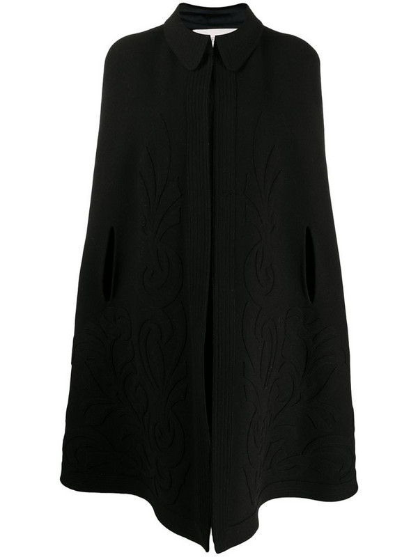 Valentino Pre-Owned 2000s oversized cape in black