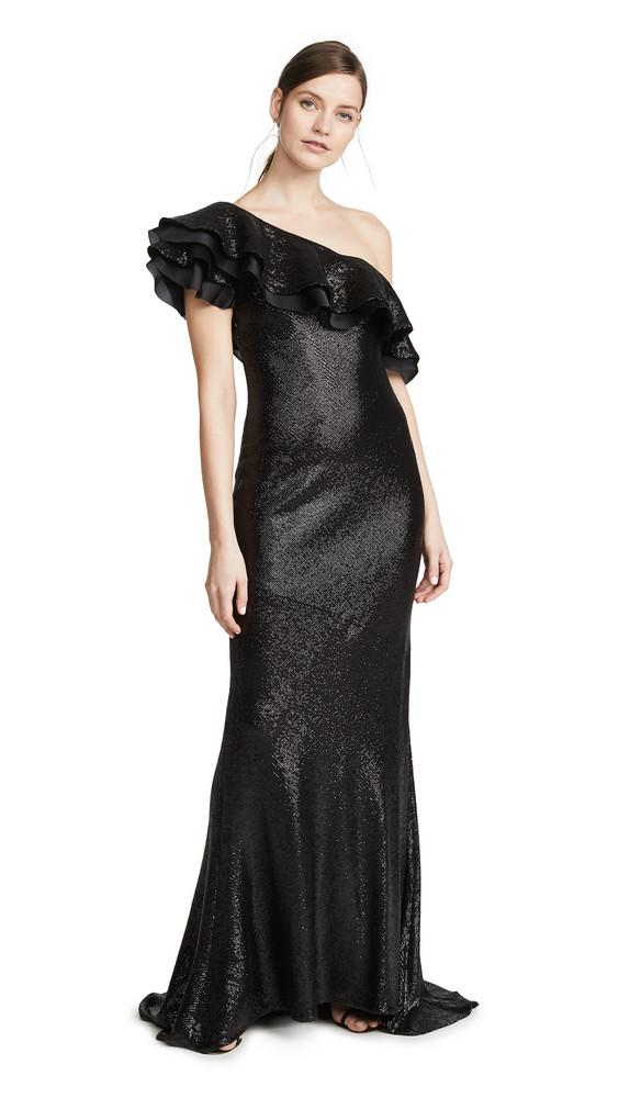 Rachel Zoe Jazz Gown in black