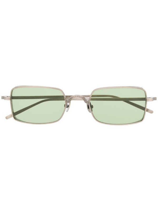 Matsuda rectangular sunglasses in metallic