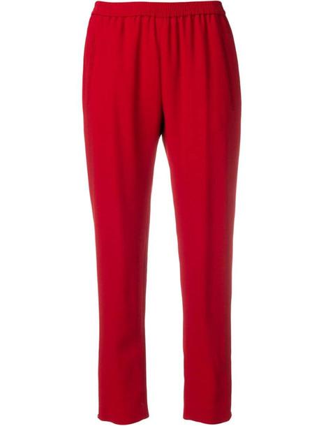 Stella McCartney Tamara trousers in red