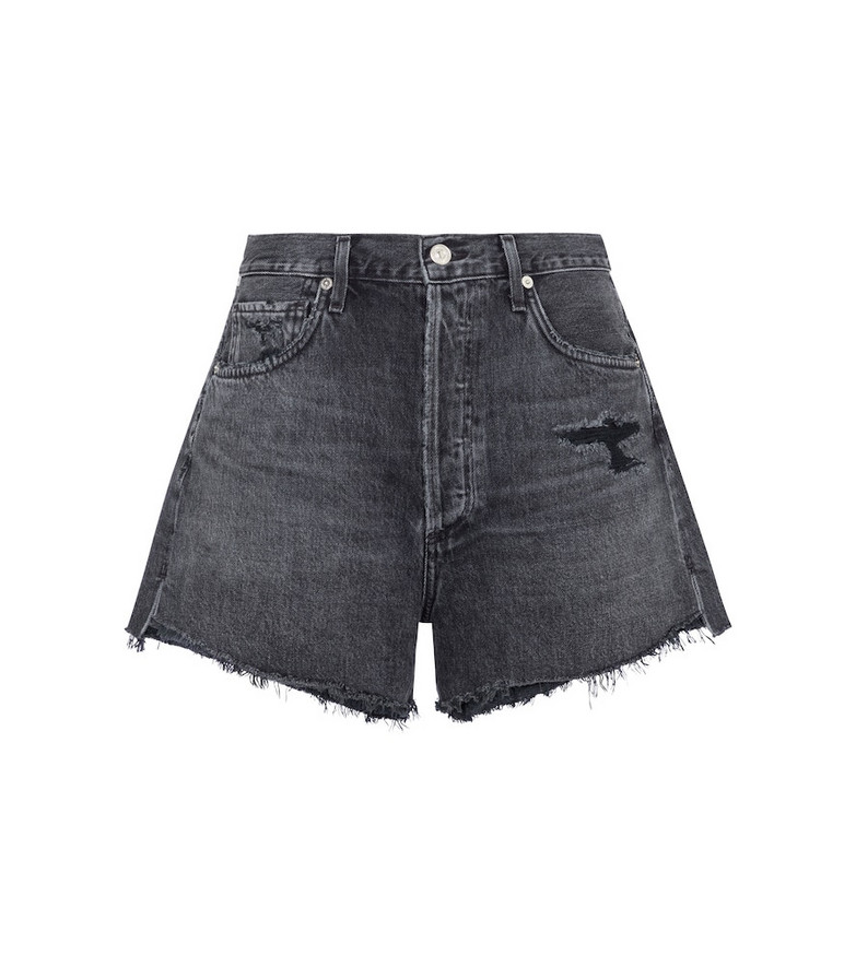 Citizens of Humanity Marlow mid-rise denim shorts in black