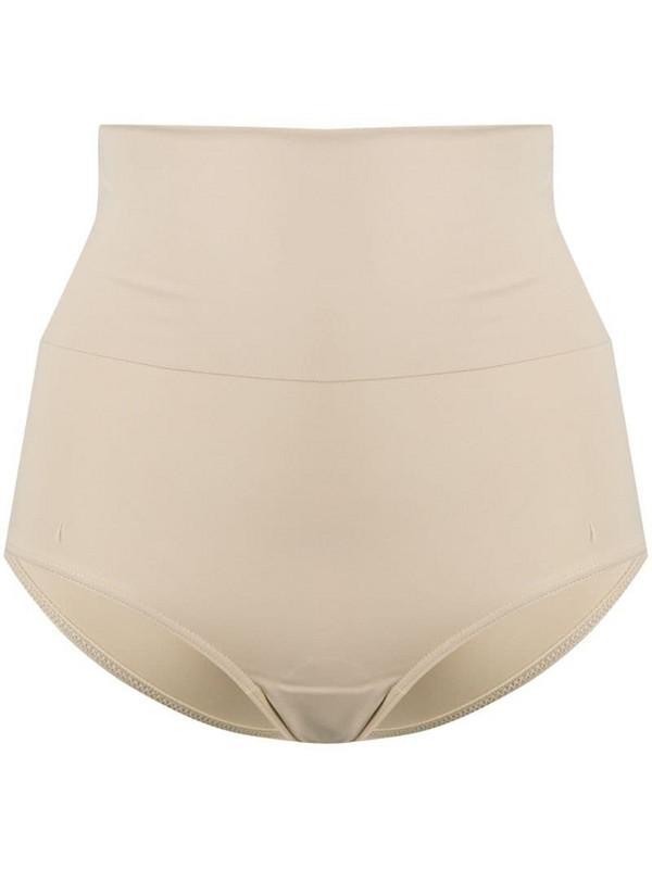 12 STOREEZ high-waisted bikini bottoms in neutrals