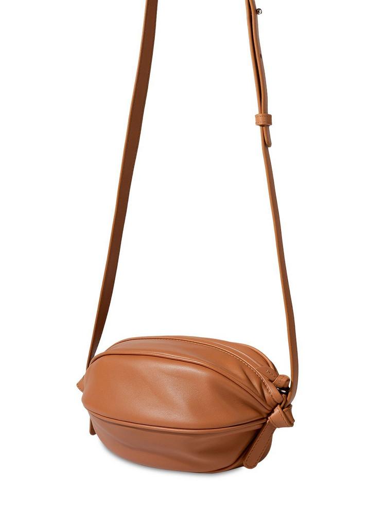 HEREU Boya Leather Ball-shape Crossbody Bag