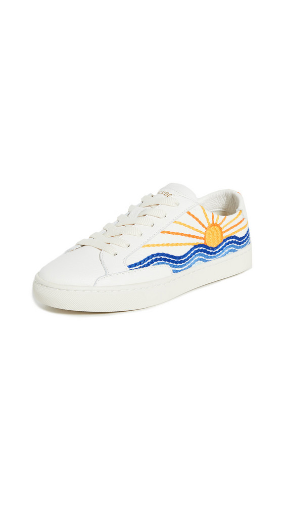 Soludos Sunrise Sunset Sneakers in white