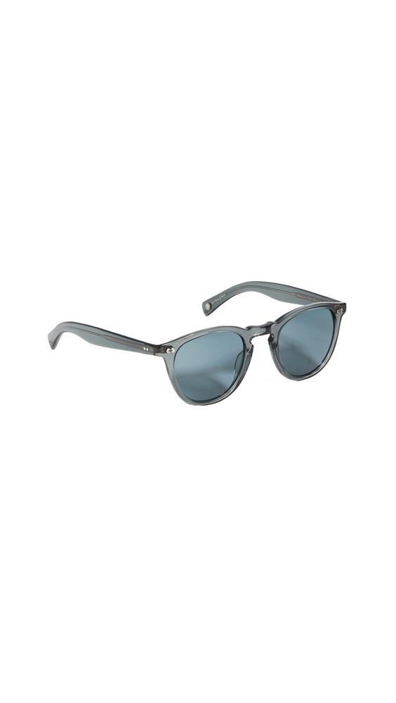 GARRETT LEIGHT Hampton X 46 Sunglasses in blue / grey