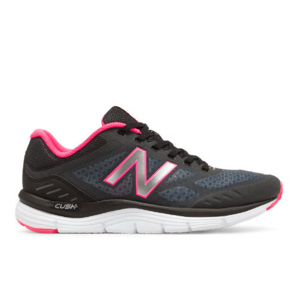 New Balance 775v3 Women's Everyday Running Shoes - Grey/Black/Pink (W775LG3)