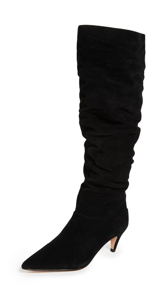 Villa Rouge Scarlett Knee High Boots in black