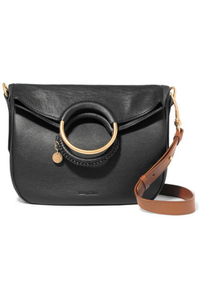 See By Chloé See By Chloé - Monroe Medium Textured-leather Tote - Black