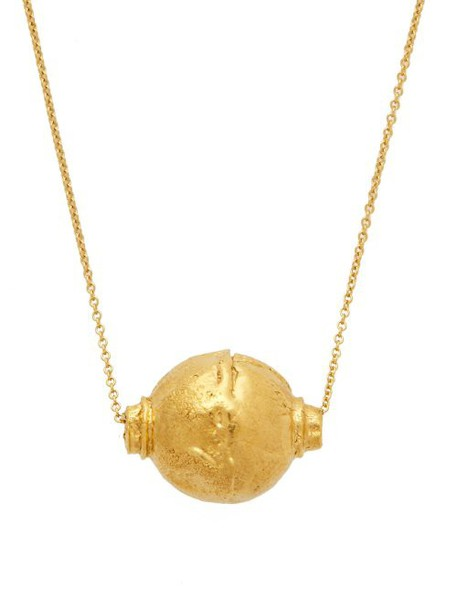Alighieri - The Vessel Of Memories Gold Plated Necklace - Womens - Gold