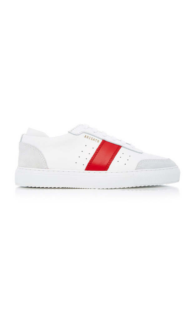 Axel Arigato Dunk Leather Sneakers in white