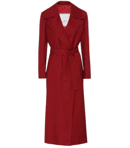 Giuliva Heritage Collection The Linda wool coat in red
