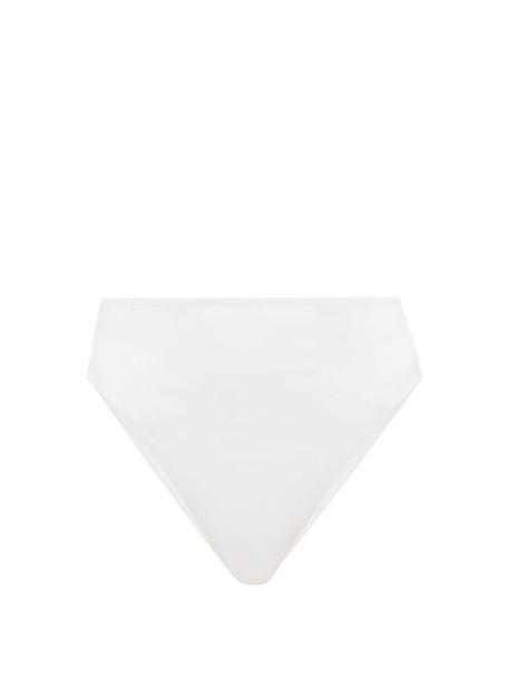 Jade Swim - Incline Bikini Briefs - Womens - White