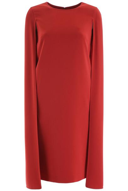 Max Mara Sansone Dress in red