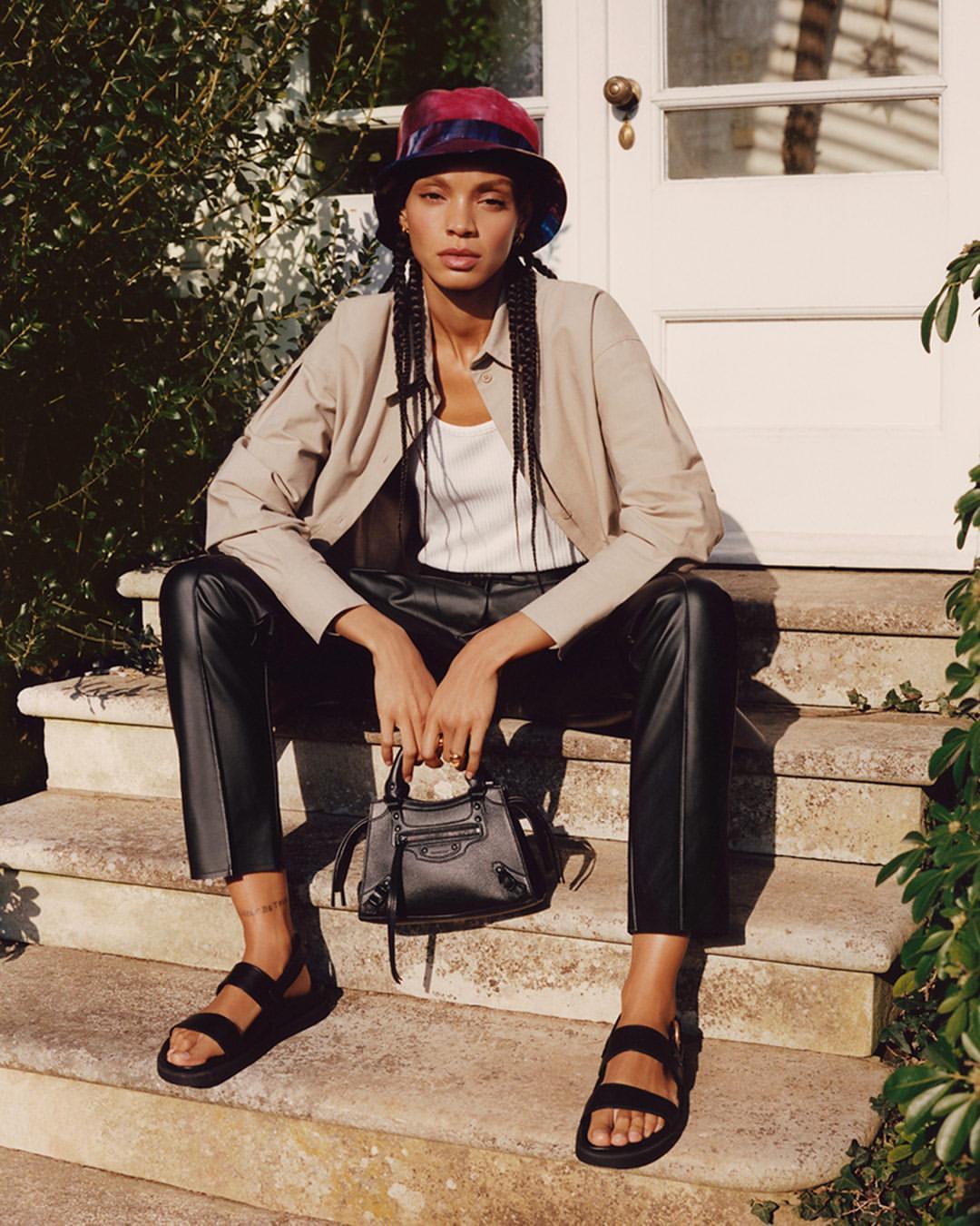 shoes hat bag top