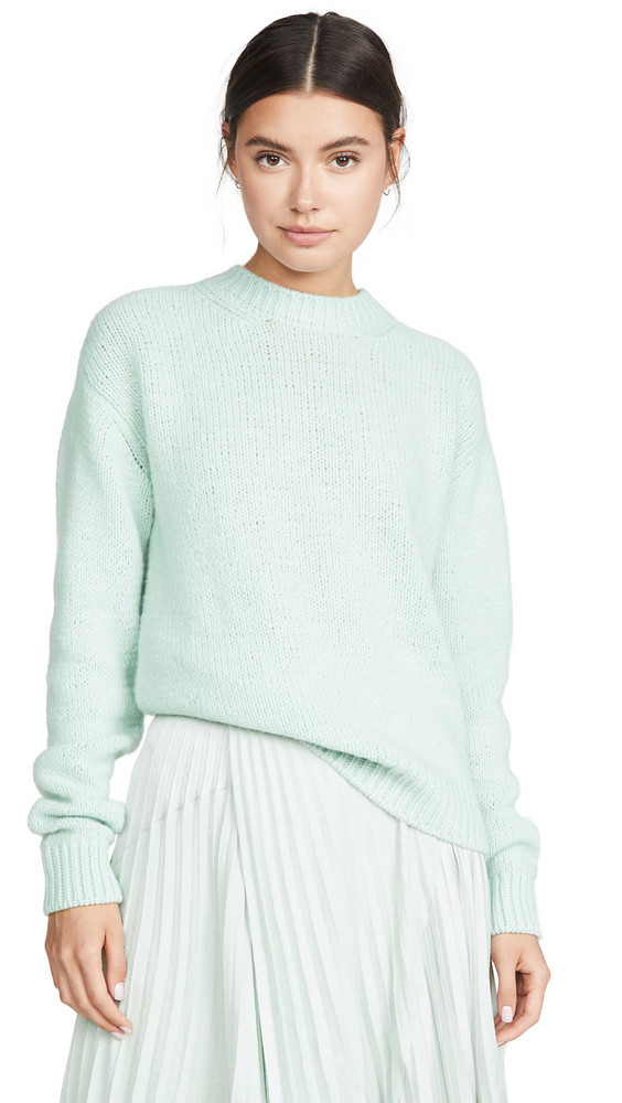 Marc Jacobs Crew Neck Sweater in mint
