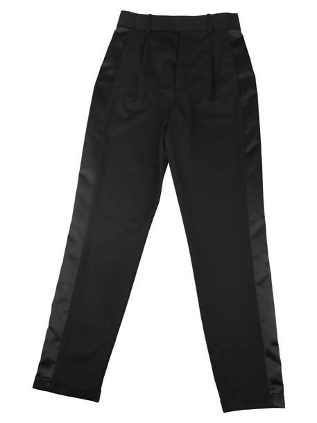 Saint Laurent Trousers in noir