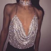 top,bling,diamante,glitter,crop,crop tops,short,shiny