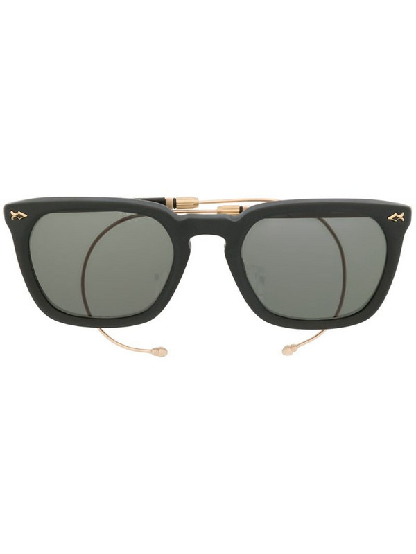 Matsuda square shaped sunglasses in black
