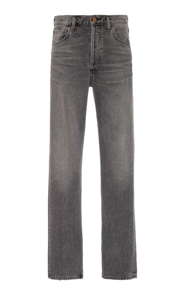 Citizens of Humanity Campbell Rigid High-Rise Straight-Leg Jeans Size: in black