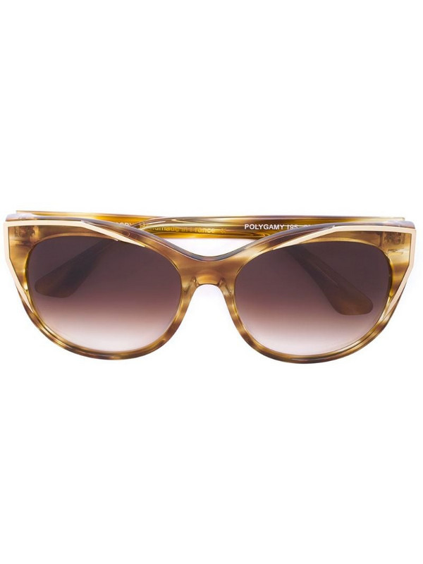 Thierry Lasry round frame sunglasses in yellow