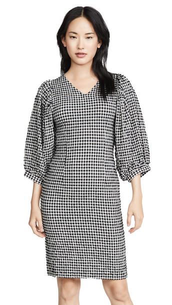 Mads Norgaard Copenhagen Dolima Dress in black / white