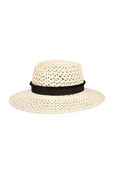 Maison Michel Virginie Straw Hat in neutral