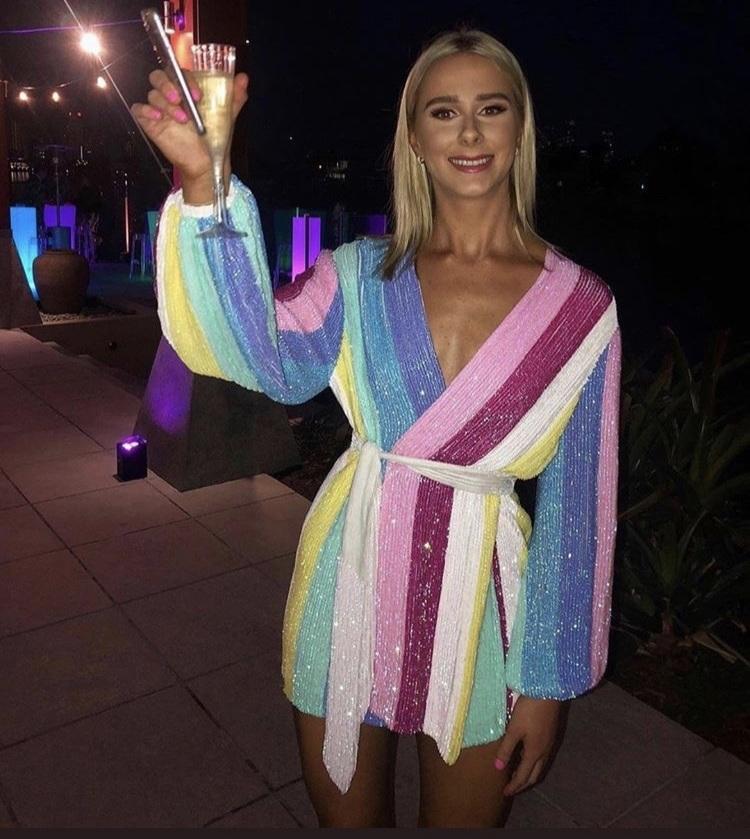 dress rainbow cute rainbow dress party dress