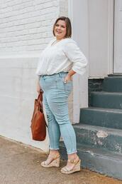 stylishsassy&classy,blogger,top,jeans,shoes,bag