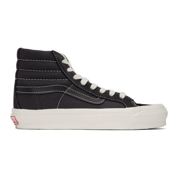 Vans Black Suede OG 138 LX High-Top Sneakers