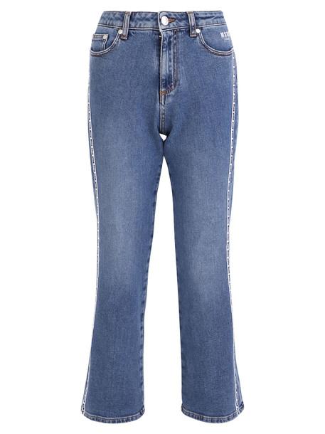 MSGM Side Bands Denim Jeans