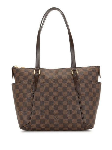 Louis Vuitton 2014 pre-owned Damier Ebène Totally PM tote bag in black