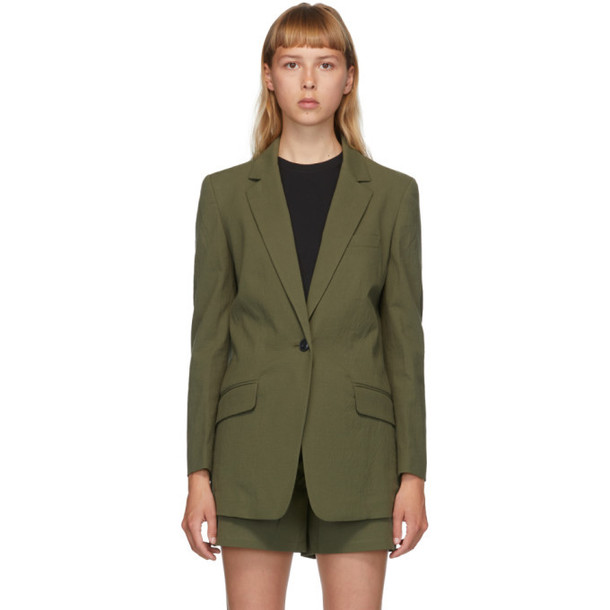 rag and bone Green Ames Blazer