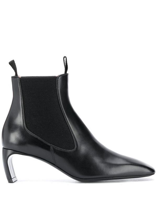 LANVIN J ankle boots in black