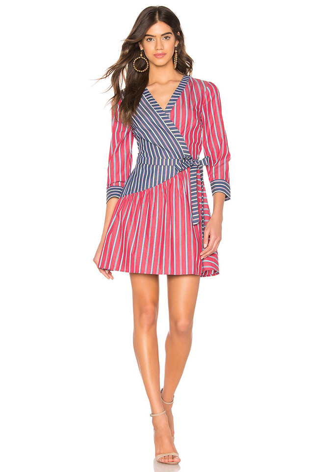 BCBGeneration Shirt Dress in red