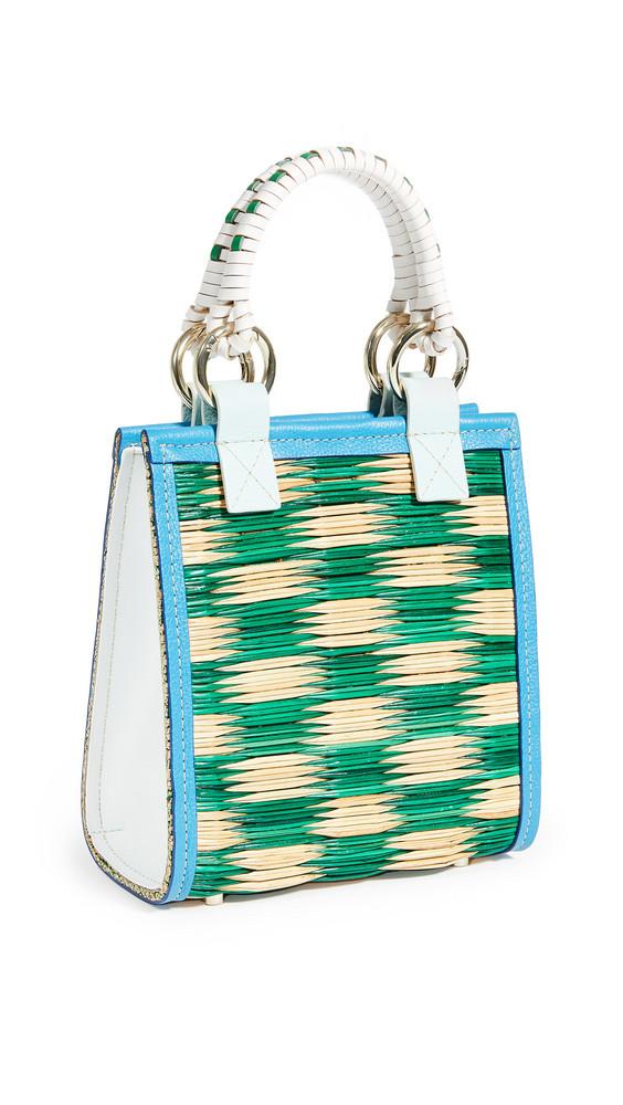Heimat Atlantica New G Bag in blue / green / white