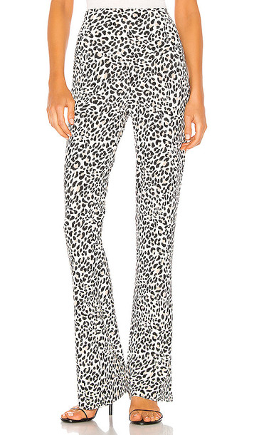 Norma Kamali Boot Pant in White