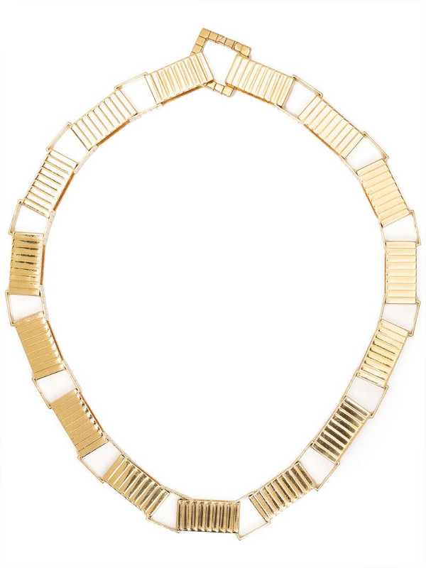 IVI Signore chain collar necklace in gold