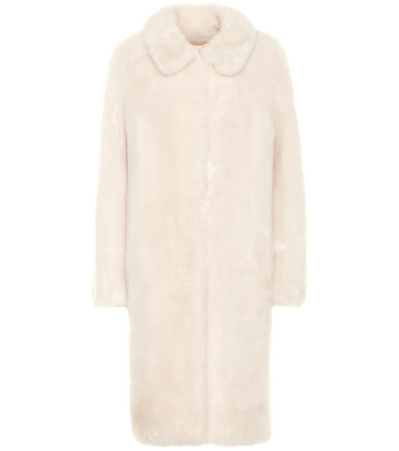 Yves Salomon - Meteo Wool coat in white