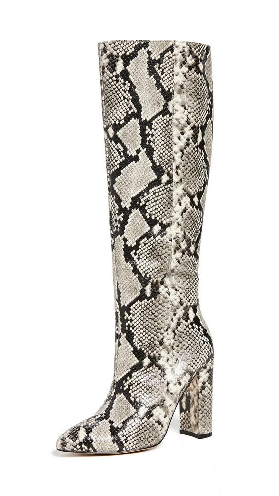 Villa Rouge Klark Tall Boots in black / white
