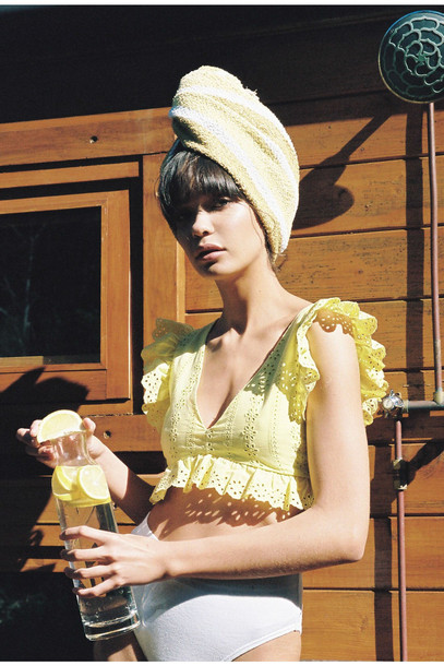 FINDERS KEEPERS SUNDAYS TOP yellow