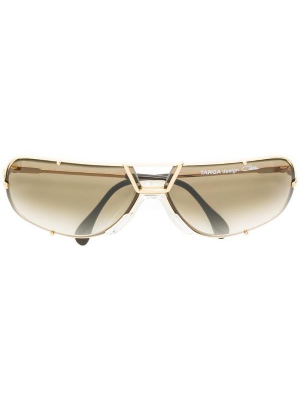 Cazal classic aviator sunglasses in metallic