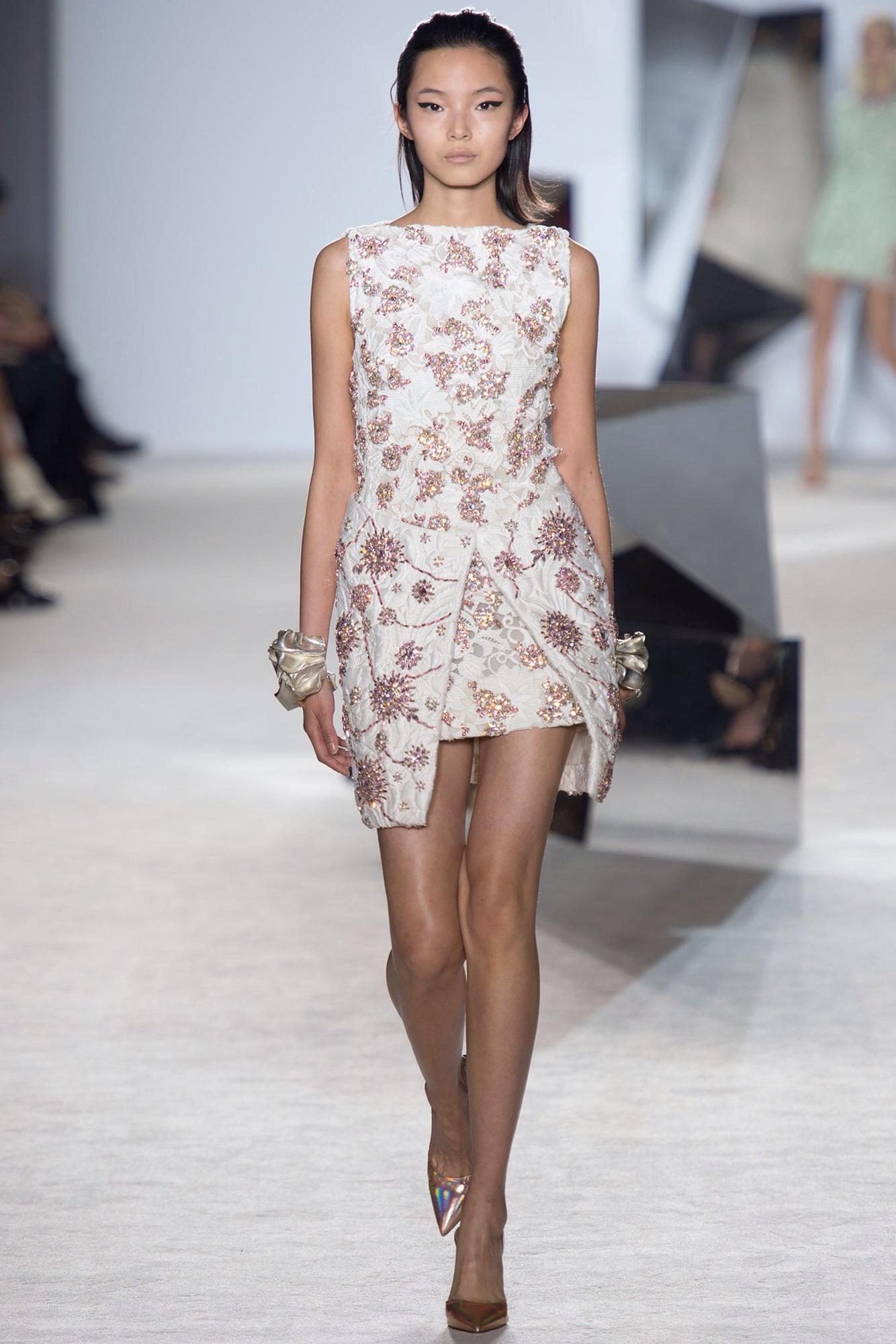 dress blake lively floral mini dress white pink embellished
